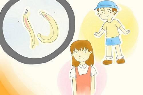 Острицы у детей симптомы и лечение заражения паразитами