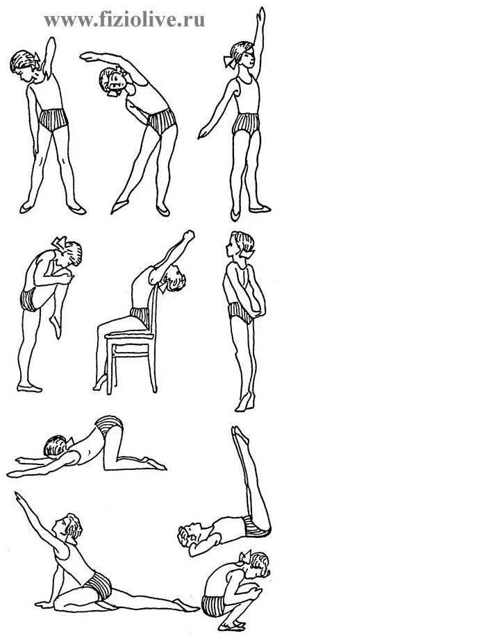 Лечебная физкультура для детей: комплекс упражнений для осанки, подготовка к занятию, противопоказания