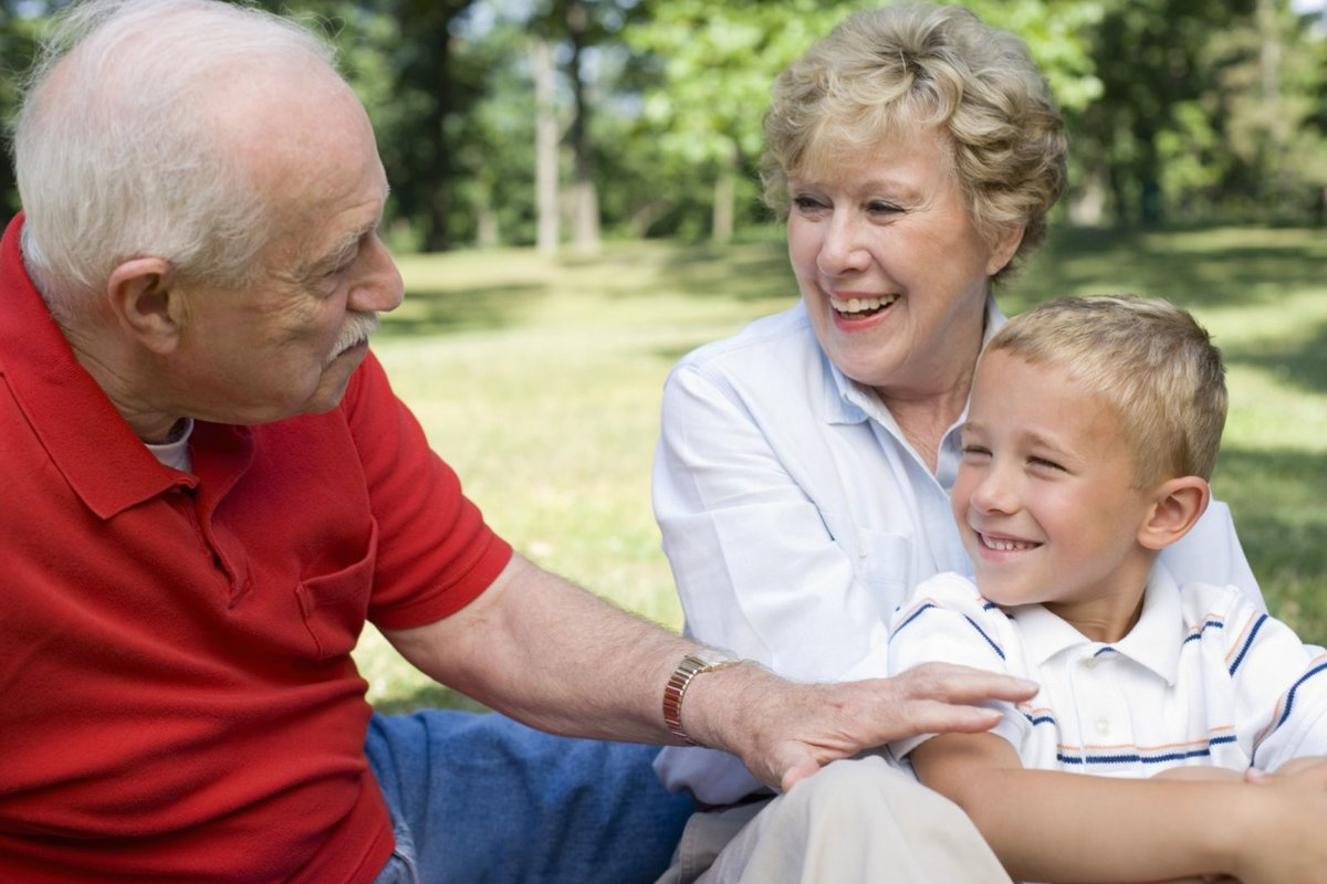 Бабушки-дедушки - страна мам