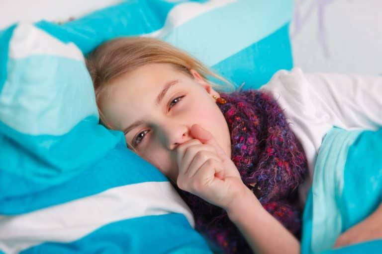 Кашель у ребенка во сне задыхается