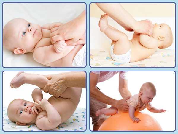 Симптомы гипертонуса мышц у новорожденных детей до года: убираем повышенный тонус с помощью массажа и ЛФК
