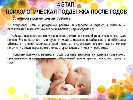 Становление лактации: когда приходит молоко после первых и последующих родов