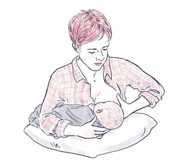 Топ-8 самых удобных поз для кормления детей грудью