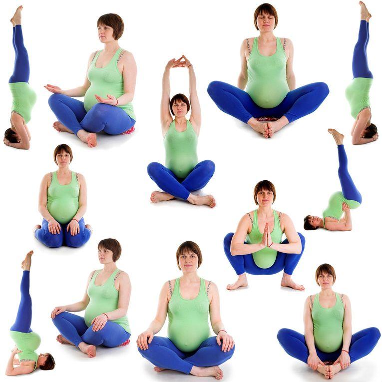 Йога для беременных 1, 2, 3 триместр