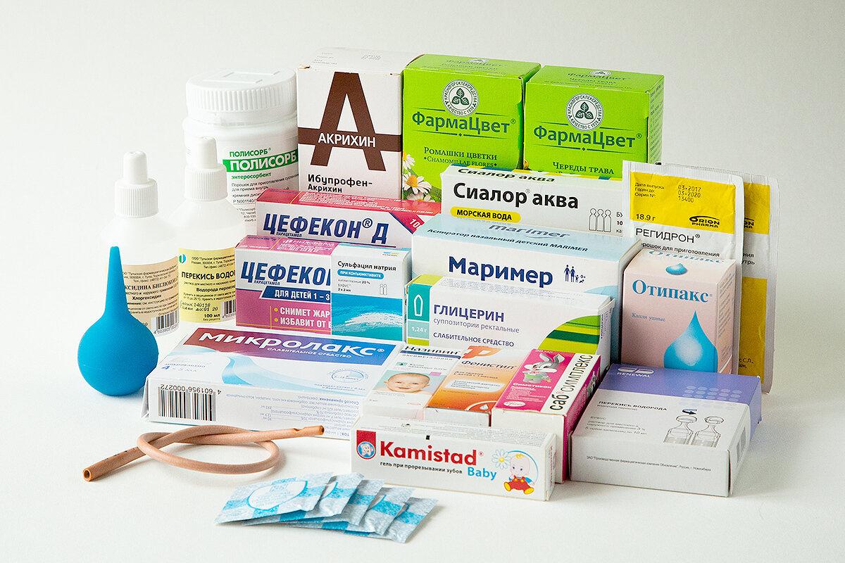 Как собрать аптечку для новорожденного: список необходимых предметов и лекарств