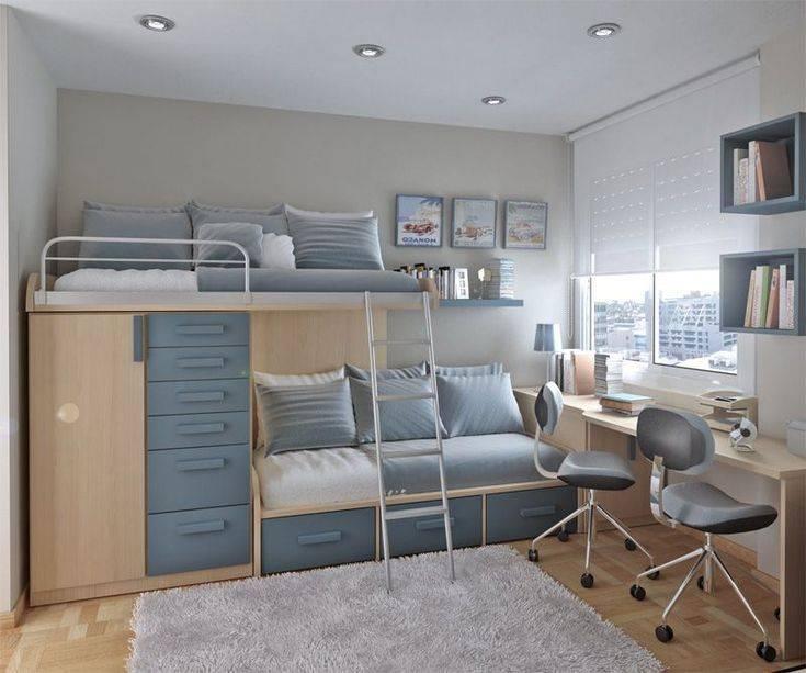 Детская комната 10 кв. м: примеры современного дизайна