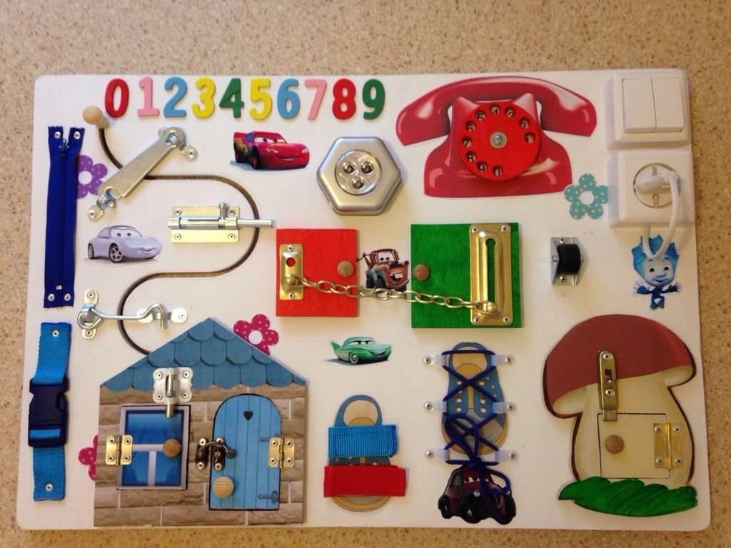 Бизиборд своими руками для мальчика — 75 фото развивающих моделей, пошаговая инструкция и мастер-класс изготовления