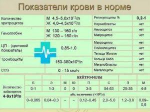 Понижен цветовой показатель крови у ребенка, причины