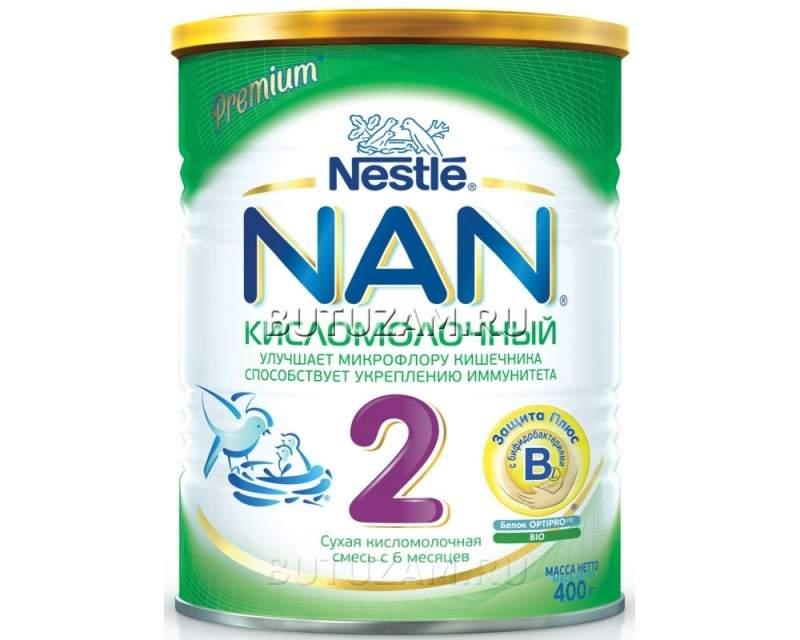 Чем отличаются детские молочные смеси nan 1 и nan 2