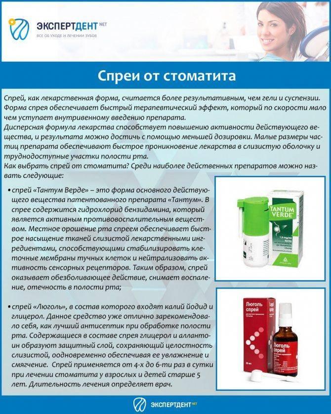 Таблетки от стоматита для взрослых, список лучших для рассасывания во рту, лечение эффективными препаратами: нистатин, инструкция