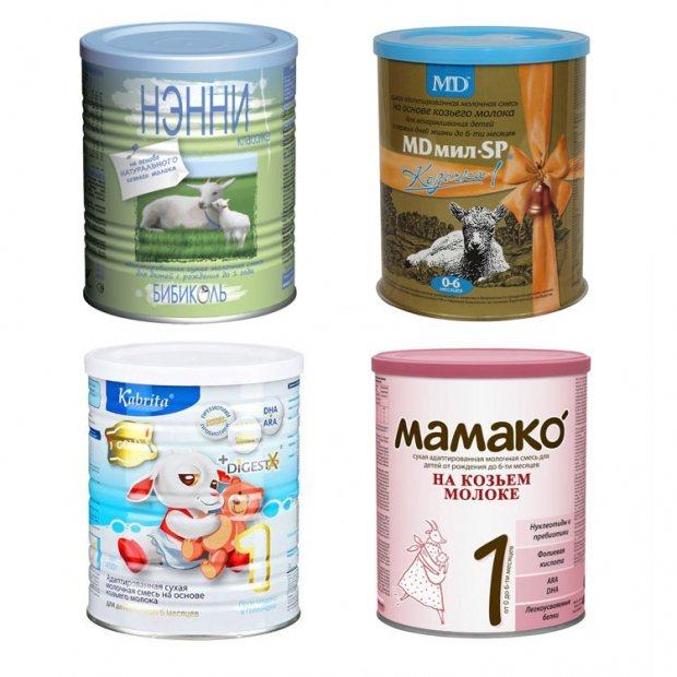Рейтинг лучших детских смесей на козьем молоке: список с ценами