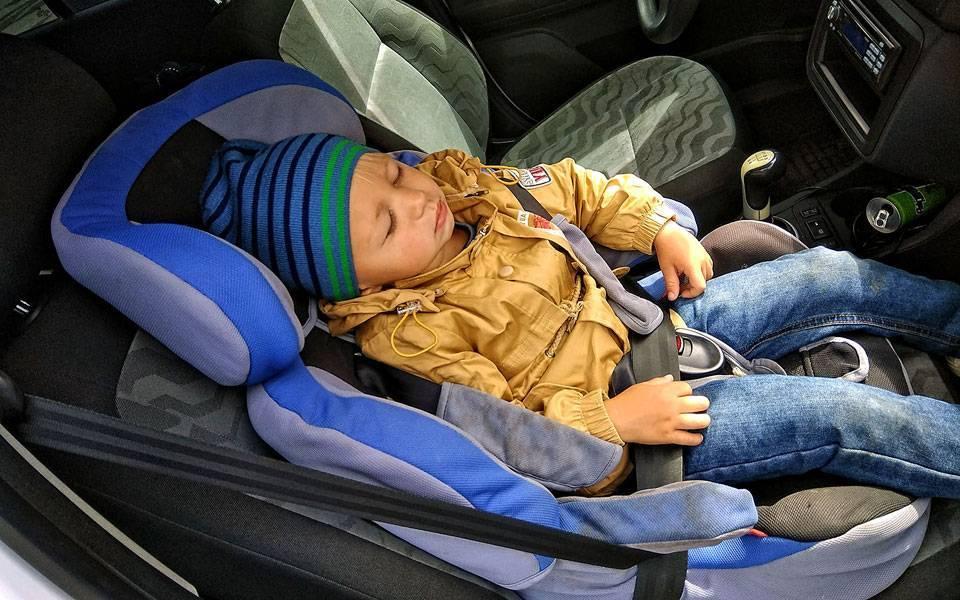 Правила перевозки детей в автомобиле с учётом возраста