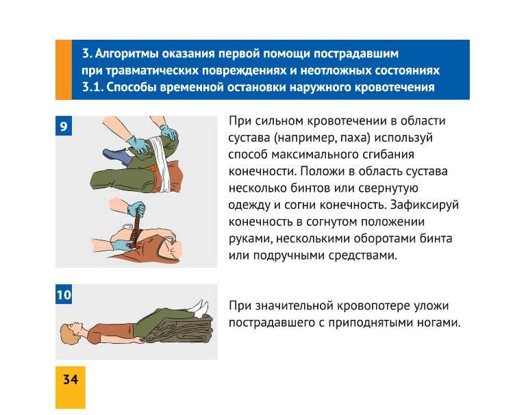 Правила первой помощи: общие рекомендации, полезные техники