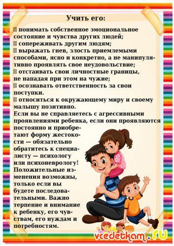 Агрессивный ребёнок — 15 рекомендаций родителям