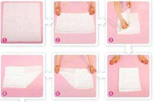 Как сшить подгузники из марли для новорожденных