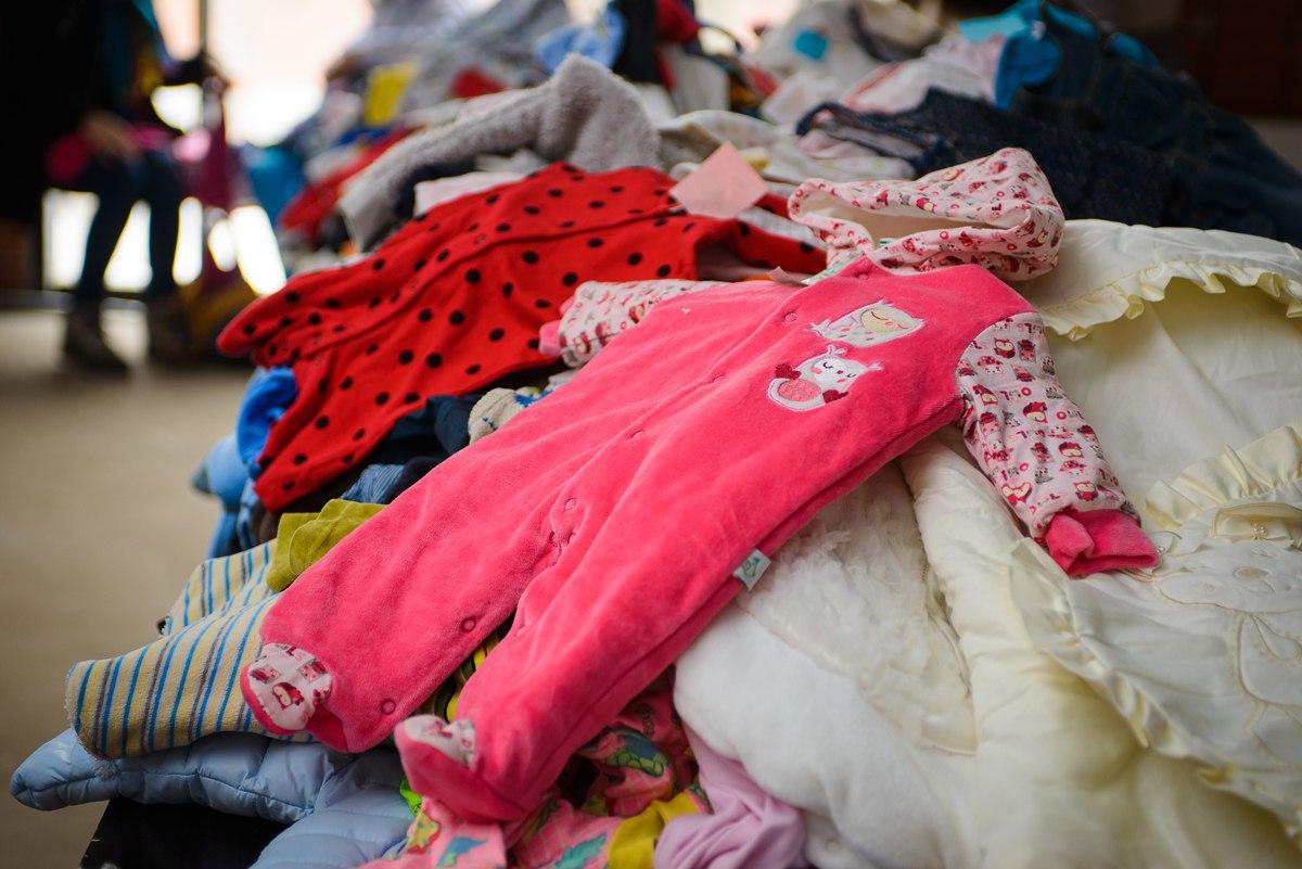 Что вы делаете с одеждой из которой ваши дети выросли? - страна мам
