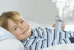 Можно ли делать ингаляции при температуре 37 5 ребенку небулайзером?