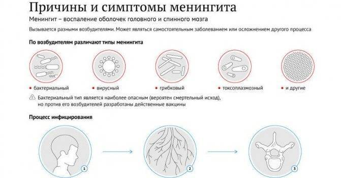 Серозный менингит: симптомы у детей и взрослых, инкубационный и продромальный периоды, лечение и профилактика, последствия вирусного заболевания