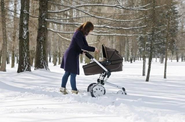 В какую погоду можно гулять с грудничком: сколько и при какой температуре