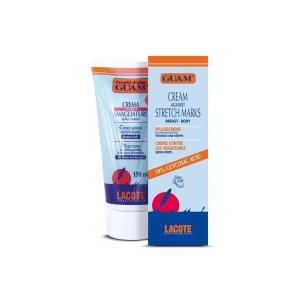 Серия кремов guam с гликолевой кислотой против растяжек: состав, принцип действия, применение при беременности