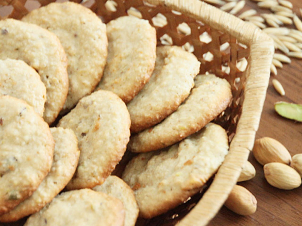 Домашнее овсяно-творожное печенье