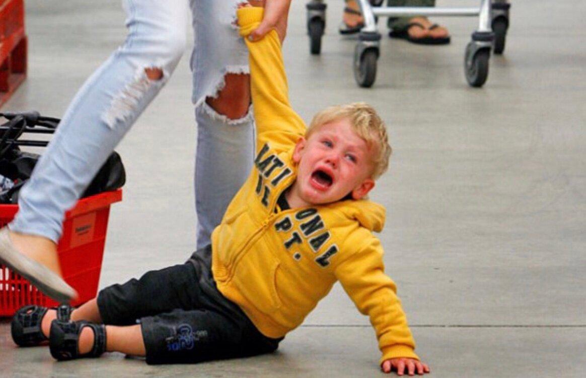 Что делать с истериками у ребенка 5 лет