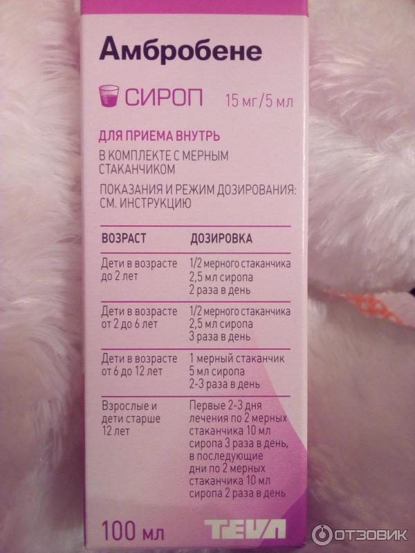 Амбробене от кашля: как принимать детям препарат в форме сиропа, таблеток или раствора для ингаляций, отзывы