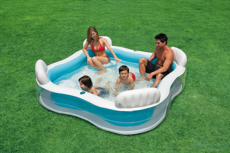 Надувные бассейны — купить в интернет-магазине intex online