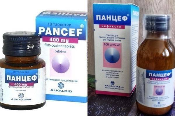 """""""Панцеф"""": инструкция по применению суспензии для детей и аналоги антибиотика"""