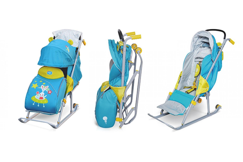 Санки-коляска (43 фото): как сложить детские сани с колесиками, продукция «тимка» и adamex galaxy