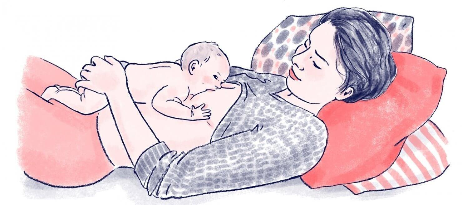 Секреты правильного кормления грудью: сидя, лежа и другие позы