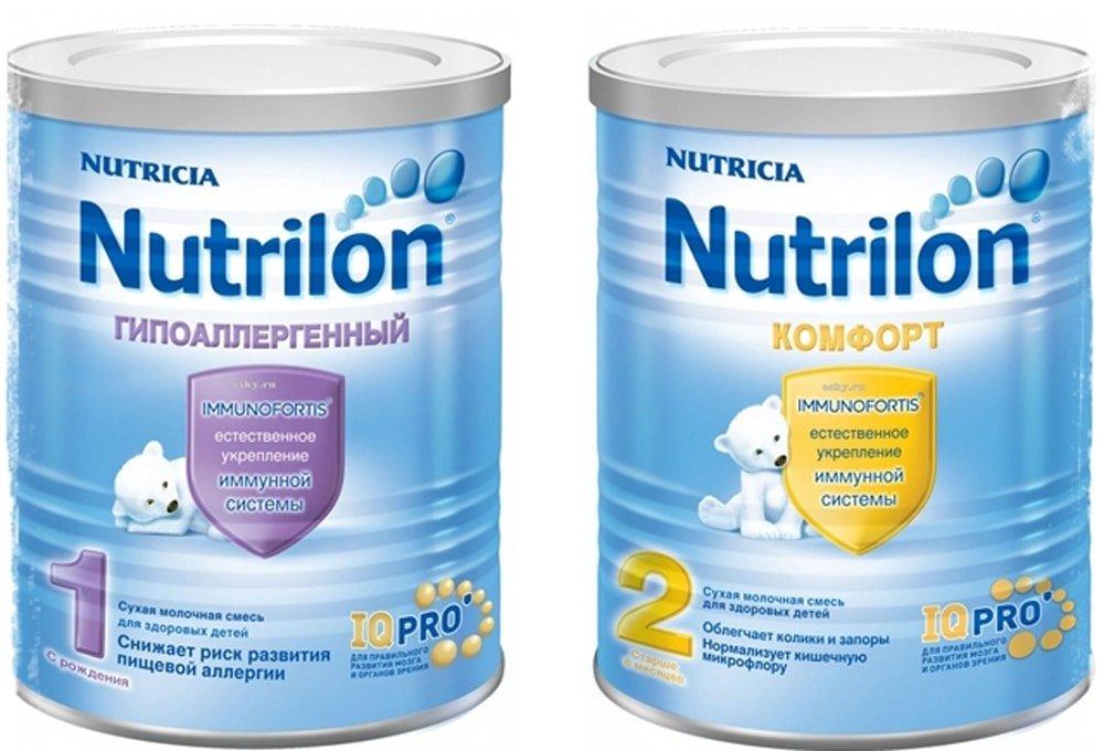 Нутрилон пре 1 и 0 – смесь для недоношенных и маловесных детей: состав продукта, преимущества и недостатки, показания к применению