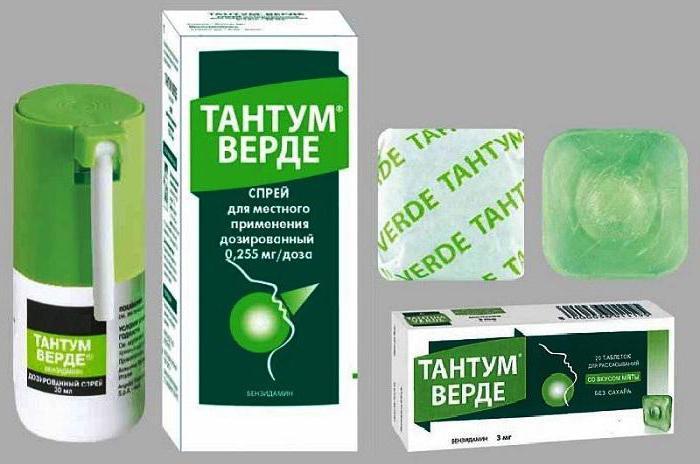 Тантум верде при беременности для лечения больного горла
