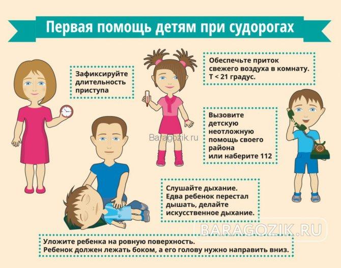 Судорожный синдром у детей: 7 причин, симптомы, 3 направления лечения
