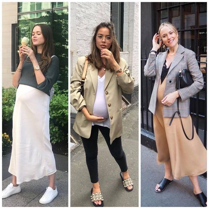 Мода для беременных 2020-2021 года 98 фото новинки