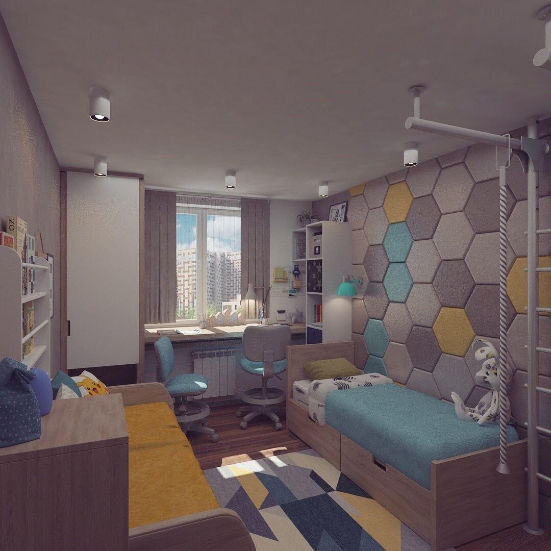 Дизайн комнаты 10 кв м для подростка – девочки, мальчика или двоих детей: фото интерьера и планировка