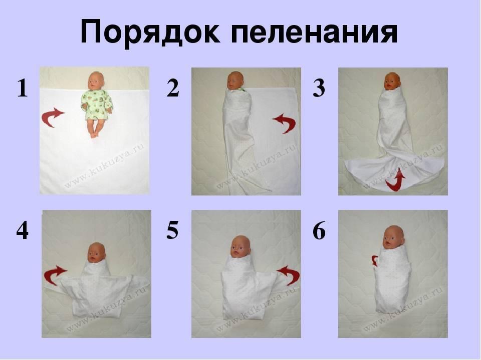 Пеленание ребенка: за и против? европеленки.