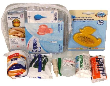 Аптечка для новорожденного | уроки для мам