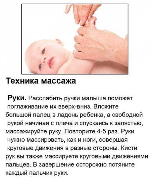 Массаж и гимнастика для малышей первого года жизни - страна мам