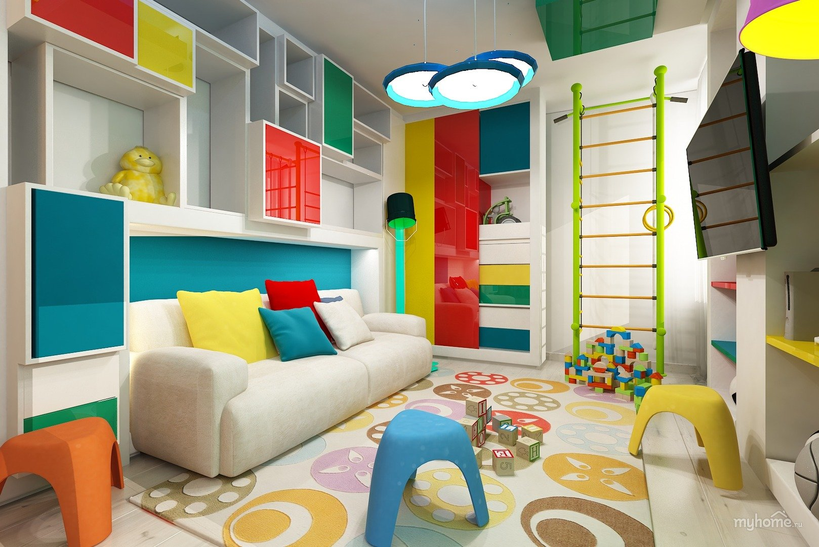 Безопасность детской комнаты – обустройство
