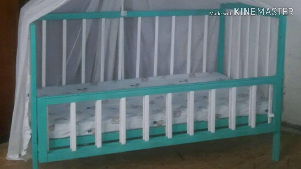 Чем покрасить детскую кроватку?
