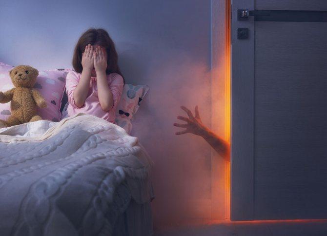 Ночные кошмары у детей и способы борьбы с ними
