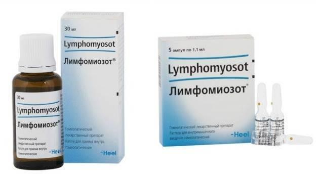 Лимфомиозот: инструкция по применению для детей при аденоидах, как принимать