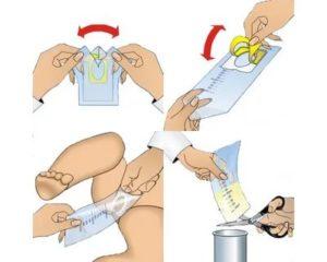 Как собрать мочу у грудничка: инструкция по сбору у новорожденной девочки и мальчика