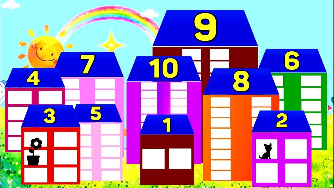 Как научить ребенка составу числа до 10 и дальше: учимся считать через домики, счет до 18 и до 20, изучаем состав чисел в 5-6 лет по бортниковой