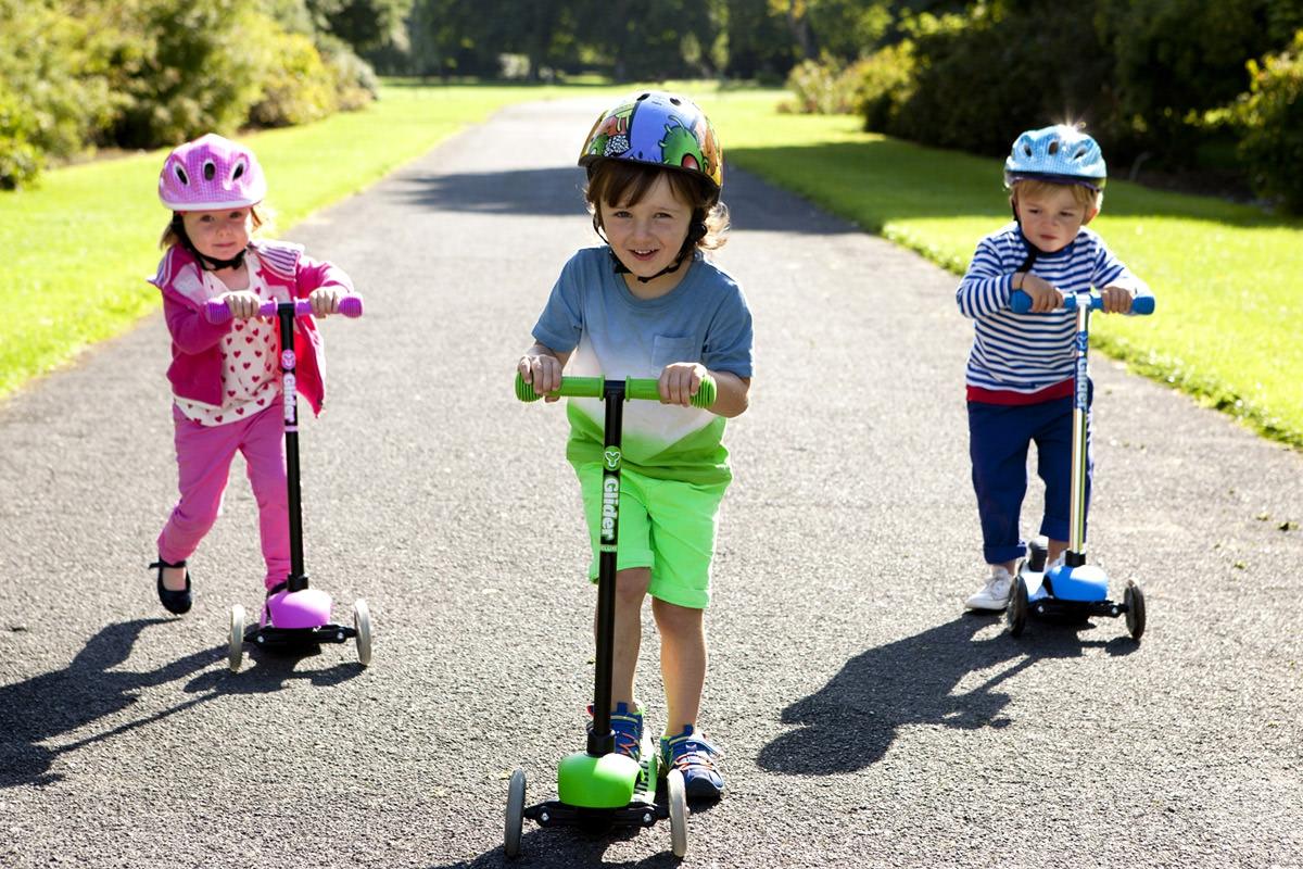 Как выбрать самокат для ребенка - 6 видов по возрастам