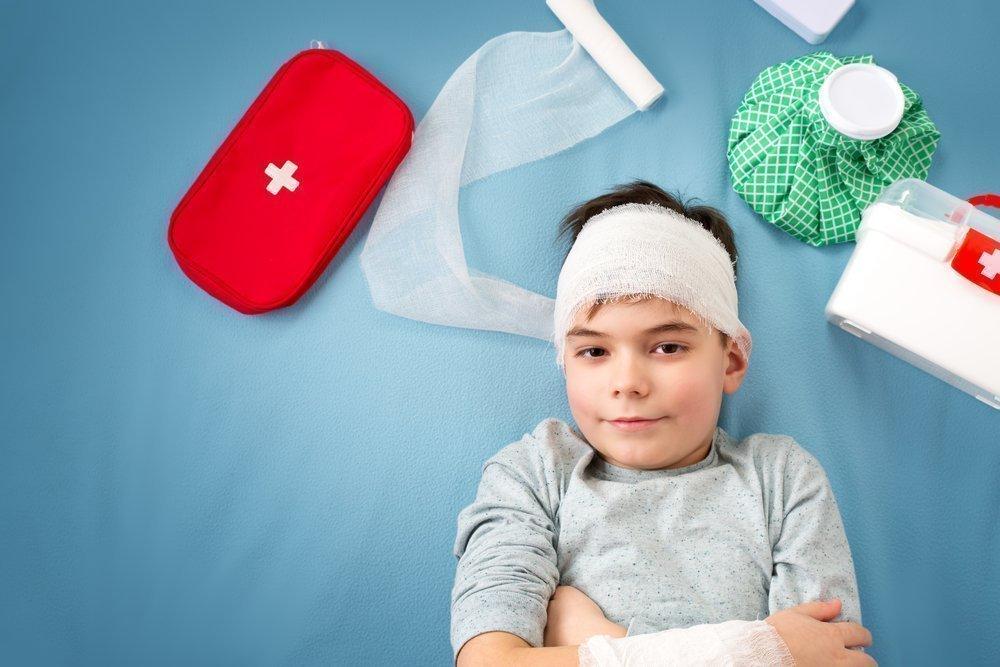 Ребенок упал и ударился головой: что делать?. наш ребенок.
