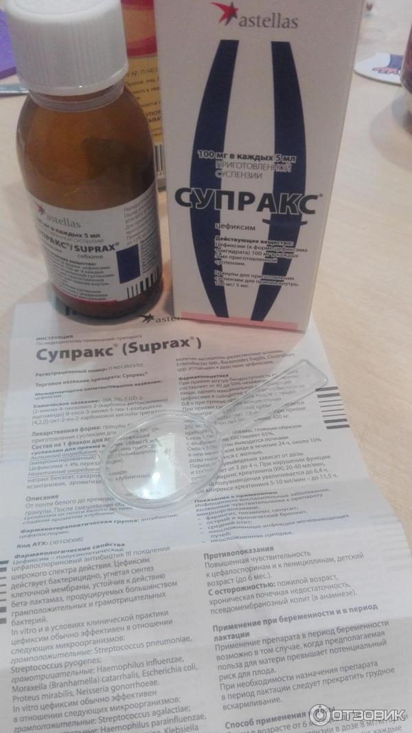 Антибиотик супракс: к какой группе антибиотиков относится, инструкция по применению, формы выпуска для детей и взрослых