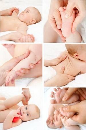Особенности массажа для новорожденных
