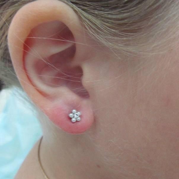 Как долго заживают уши после прокола?